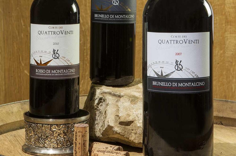 Degustazioni a Montalcino I vini della Corte Dei Venti