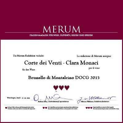 Merum - Brunello di Montalcino Corte dei Venti